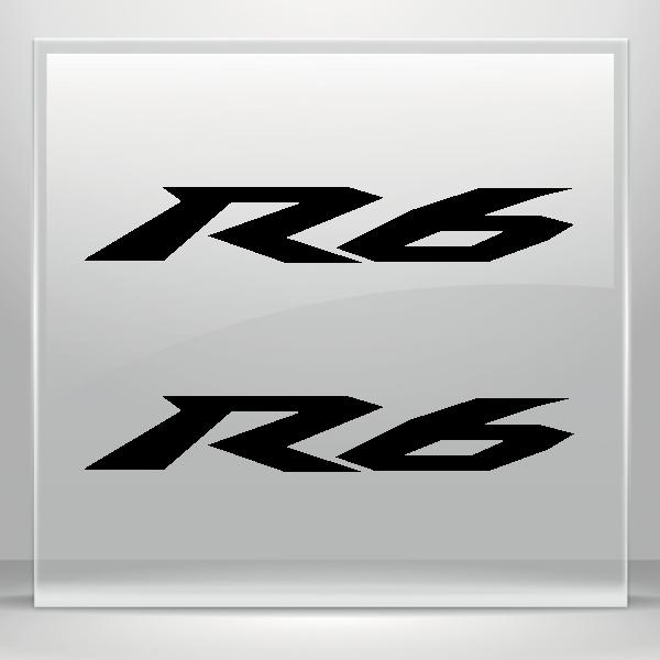 Yamaha R6 Logo 01263