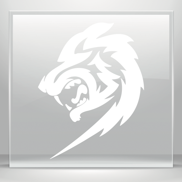 Decals Decal Lion Head 20 01940