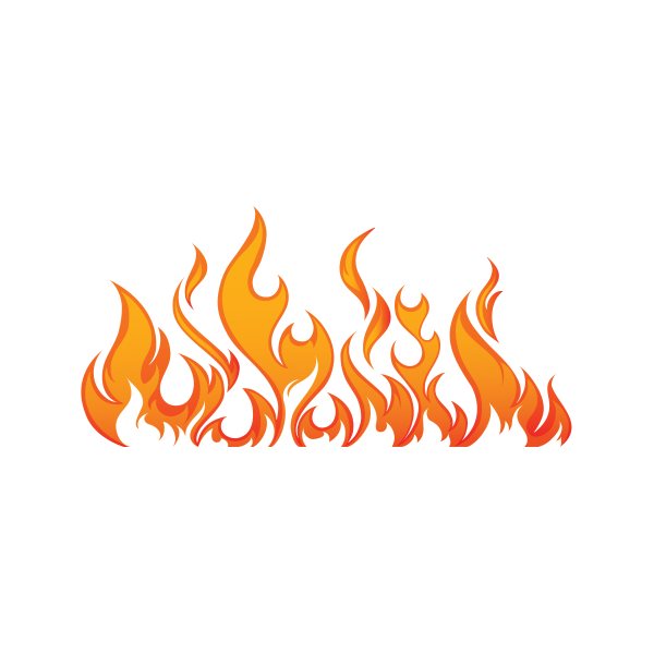 Details about  /Decals Decal Pair Of Flames Red Orange Yellow 20 02260