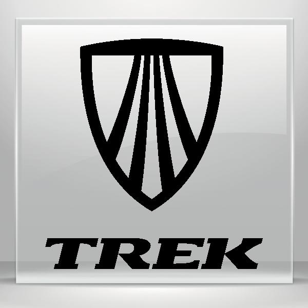 simple color vinyl trek mountain bike logo stickers factory