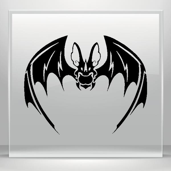 Simple Color Vinyl Tribal Bat Stickers Factory