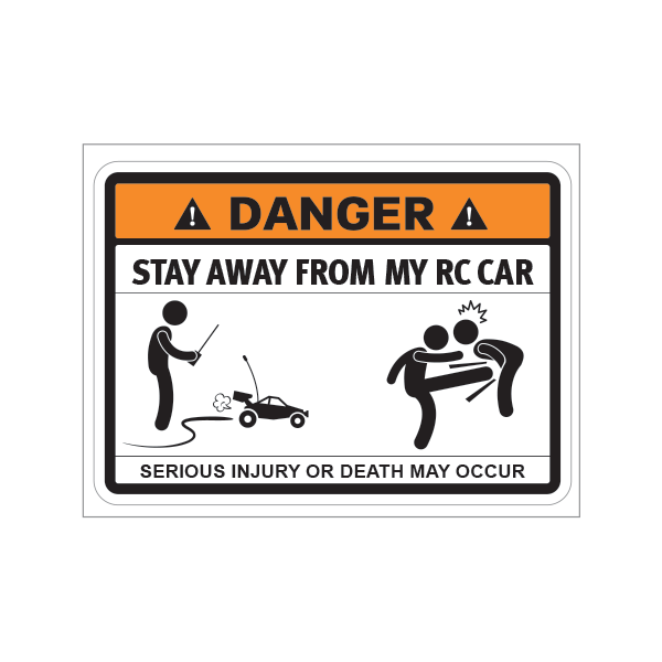 Decals Stickers Funny Stay Away From My Vinyl Records Vehicle st5 RS864