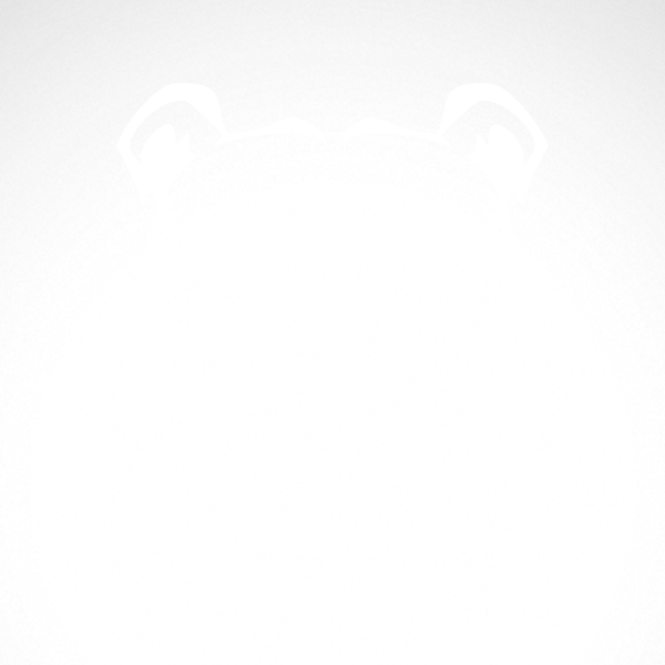 Simple Color Vinyl Polar Bear Head Stickers Factory