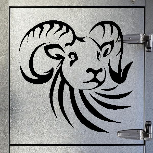 Sticker Decals Ram Design 20 09193