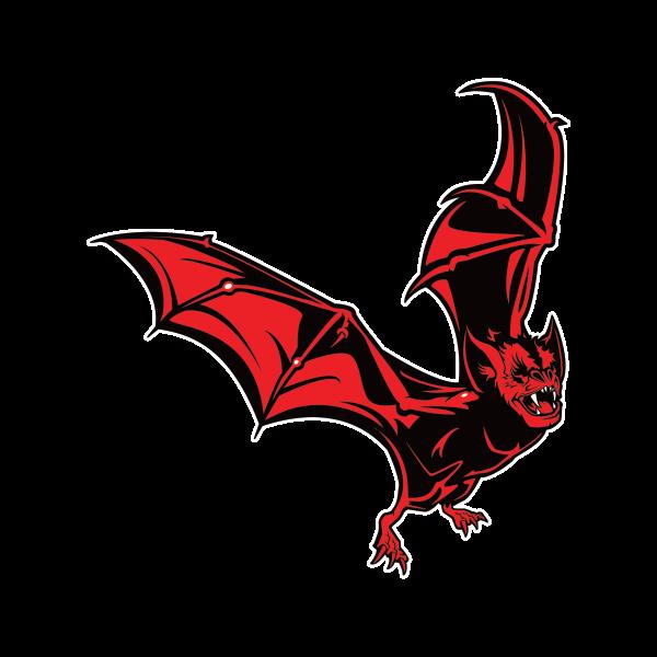 Printed Vinyl Red Bat Stickers Factory