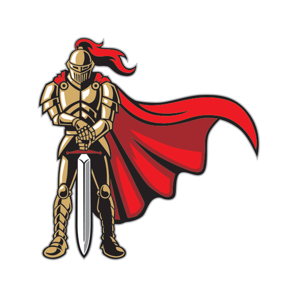 printed vinyl knight guard stickers factory