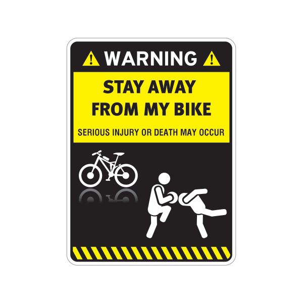 Decal Sticker Funny Stay Away From My Inflatable Boat 20 05878