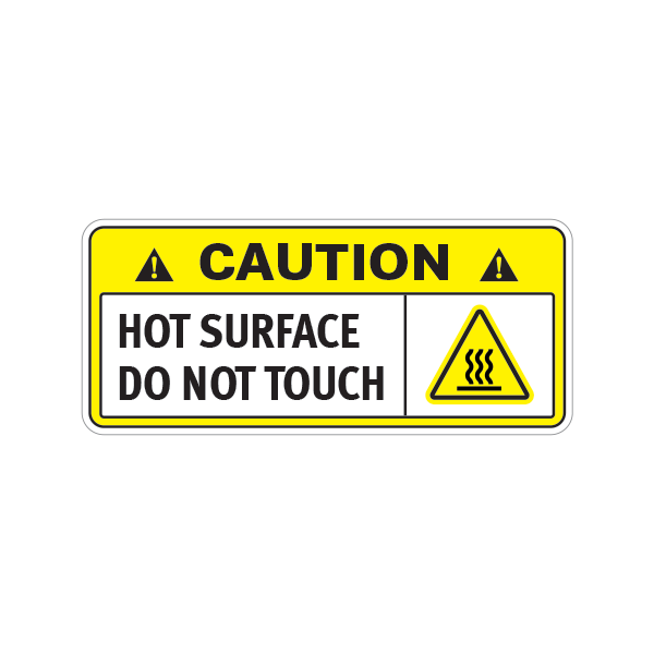 Warning Do Not Touch My Tools Funny Sticker Decal 1 1//2 Wide By 4 Inches Long