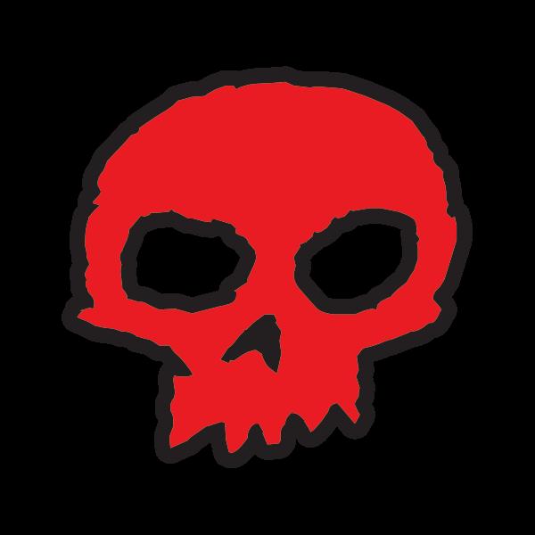 Zero Skateboard Logo Red Black 15188