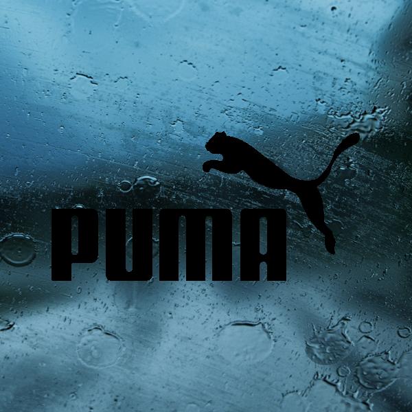 Simple color vinyl Puma Logo   Stickers Factory