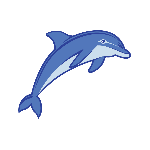 Stickers Sticker Dolphin Happy 20 13852