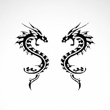 Pair Of Dragons 00509