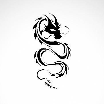 Tribal Dragon  00518