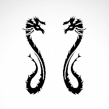 Pair Of Dragons 00525
