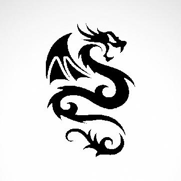 Tribal Dragon 00526