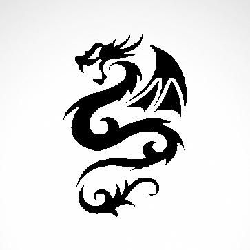 Tribal Dragon 00527