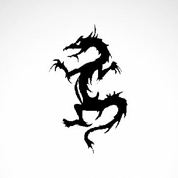 Tribal Dragon 00529