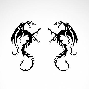 Pair Of Dragons 00534