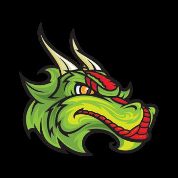 Dragon Mascot Head 00557