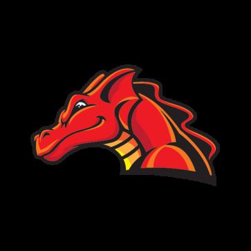 Red Dragon Head 00573