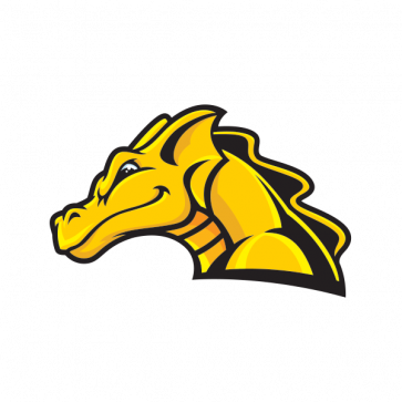 Yellow Dragon Head 00575