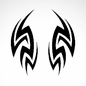 Tribal Racing Design 01004