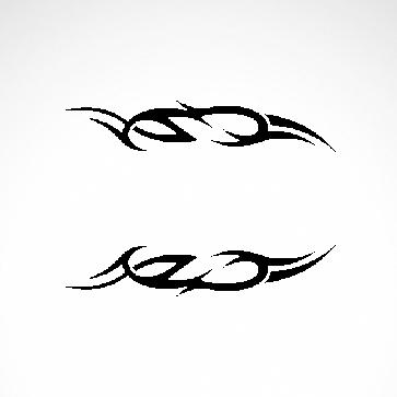 Tribal Racing Design 01015