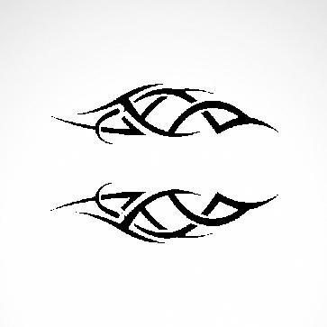 Tribal Racing Design 01017