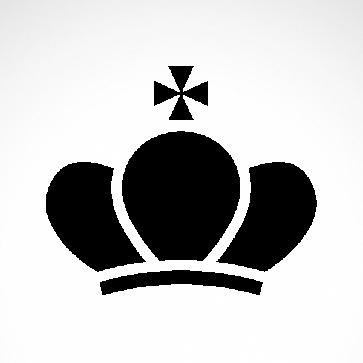 Royal Crown Chess Queen King Kingdom  01236