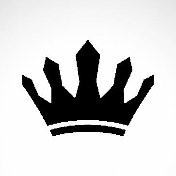 Royal Crown Chess Queen King Kingdom  01238