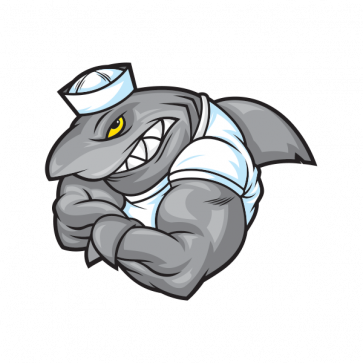Sailor Shark Bodybuilder 01470