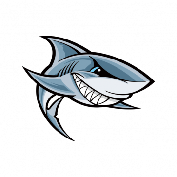 Cartoon Shark Smile 01751