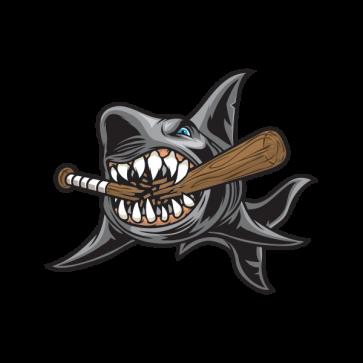 Shark Baseball Bat 01780