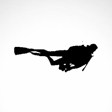 Scuba Diver 01806