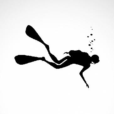 Diver Scuba 01832
