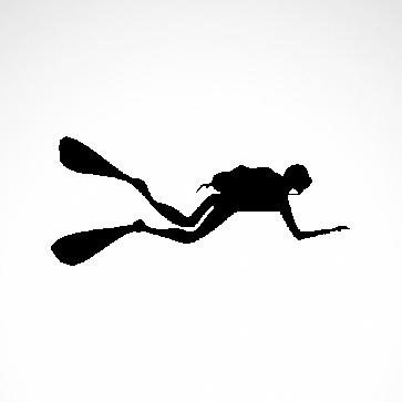 Diver Scuba 01833