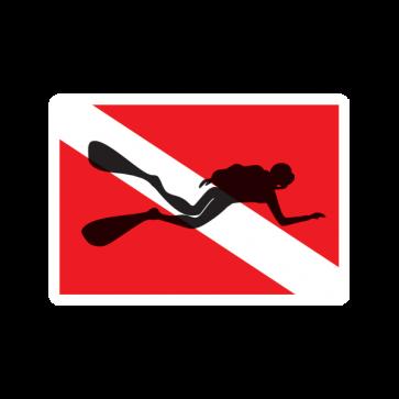Flag Diver Scuba 01844