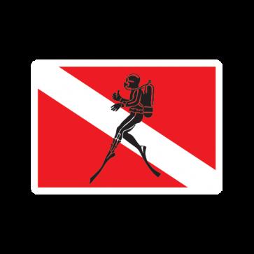 Flag Diver Scuba 01847