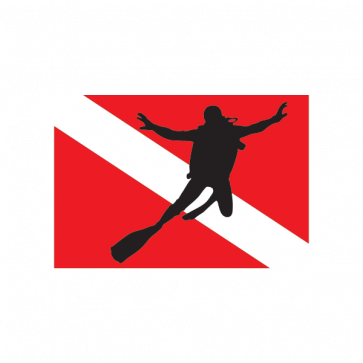 Flag Diver Scuba 01852