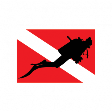 Flag Diver Scuba 01853