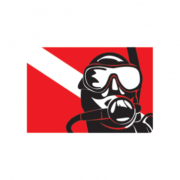 Flag Diver Scuba 01858