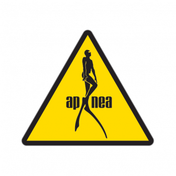 Caution Apnea Diving 01870