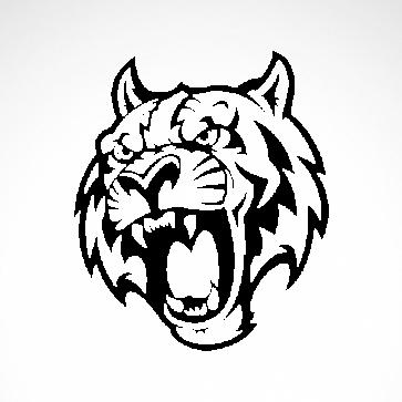Tiger Mascot  01900