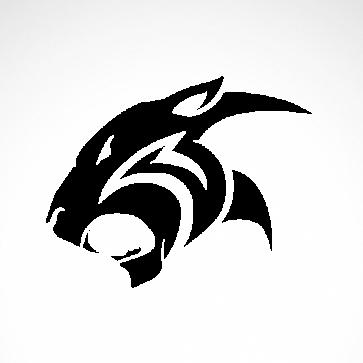 Black Panther Puma Head 01905
