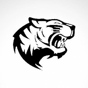 Tiger Head 01924
