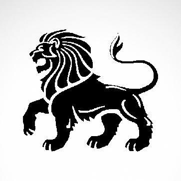 Lion Heraldic 01934
