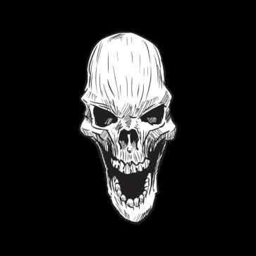 Skull Smile 02445