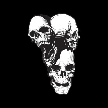 Combination Of Skulls 02449