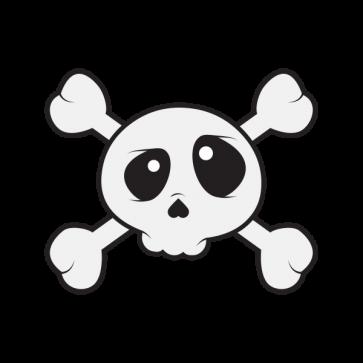Skull Cartoon Style 02482