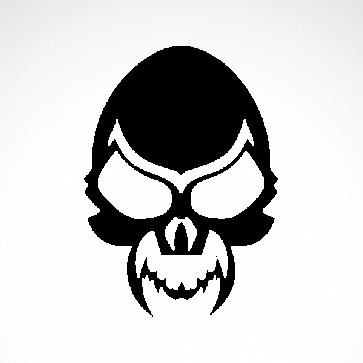 Evil Skull 02509